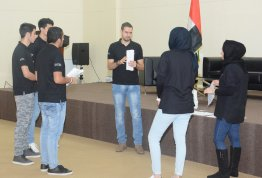 Al Ain University, AAU, UAE, Abu Dhabi, Dubai, Al Ain, teamwork, workshop, training