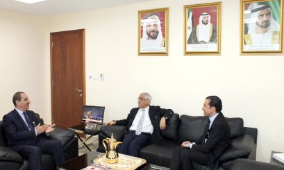 A Delegation from Lyon University visits AAU