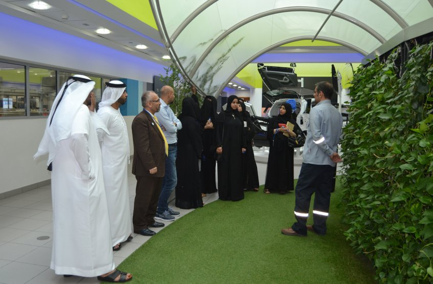 A visit to Borouge Innovation Center