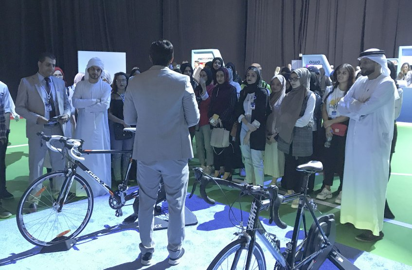 Fitness and Health Course Students visit Dubai Sports Conference and Exhibition