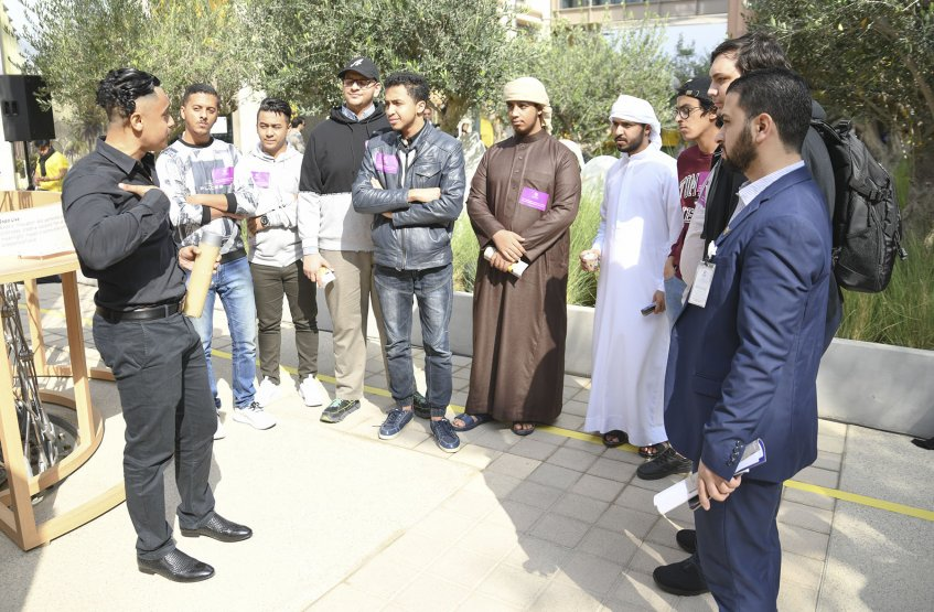 Visit to Expo 2020 Site