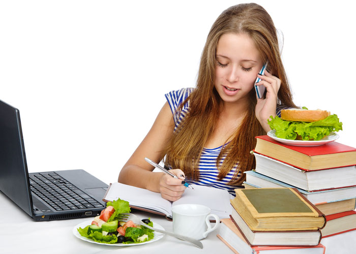 eating healthy food during exams, Al Ain University
